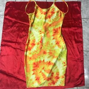 Tie Dye explosion dress!